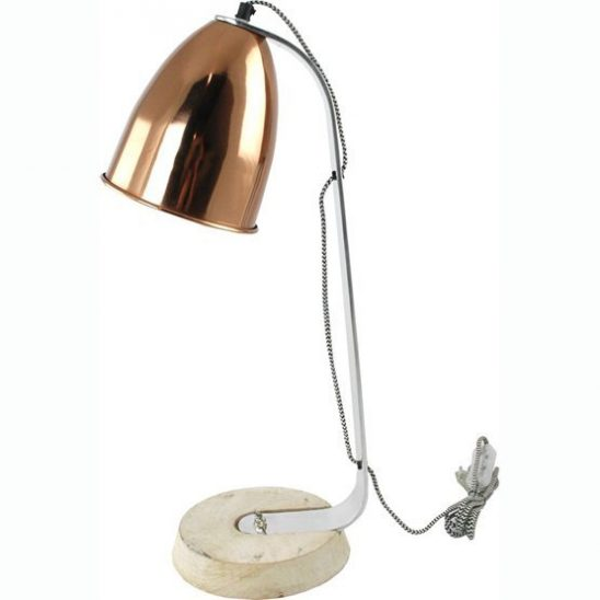 bureaulamp loraine copper
