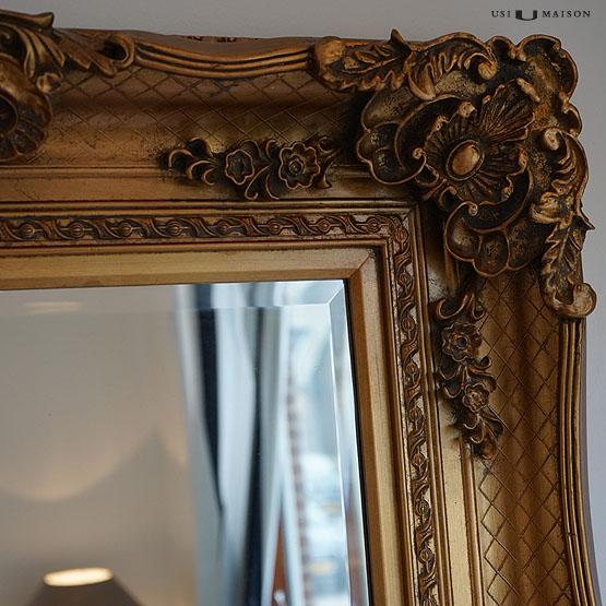 Bernini barokspiegel goud klassieke spiegels usi maison for Barok spiegel