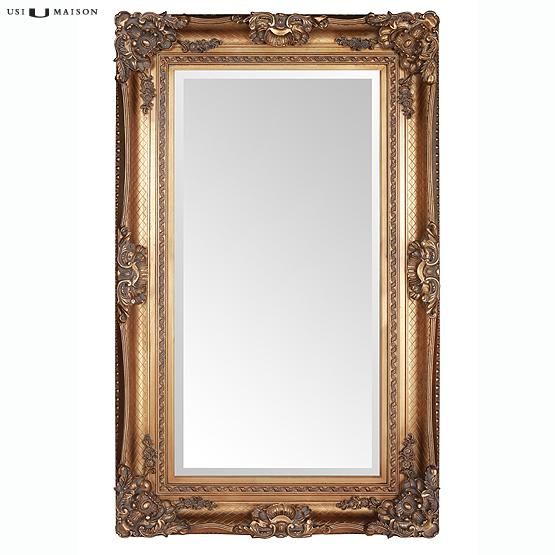 Prachtige barok spiegel bernini goud direct leverbaar bij usimaison - Barok spiegel voor badkamers ...