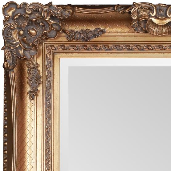 Prachtige gouden barok spiegel bernini