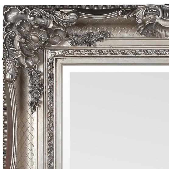 Barok spiegel bernini zilver klassieke spiegels usi maison for Barok spiegel