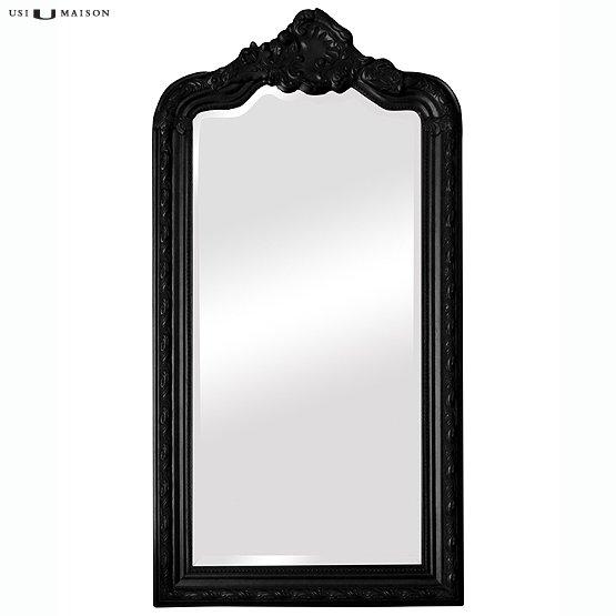 spiegel barok rocaille zwart