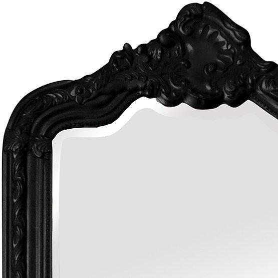 spiegel barok rocaille zwart main