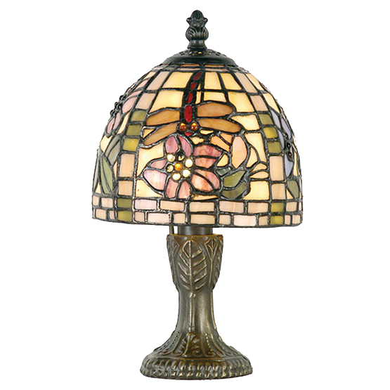 Tiffany small table lamp scranton usi maison - Kleine zonne lamp ...