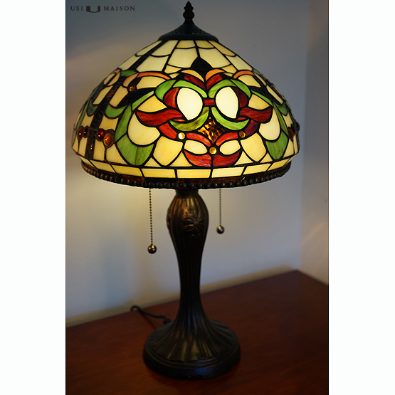 tiffany tafellamp alabama usi maison. Black Bedroom Furniture Sets. Home Design Ideas