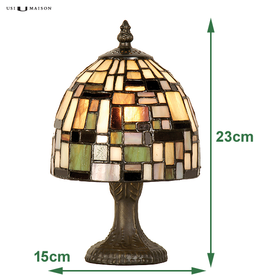 tiffany tafellamp winchester sizes