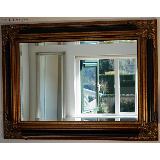 Barok spiegel zwart barok spiegel zwart with barok for Barok spiegel