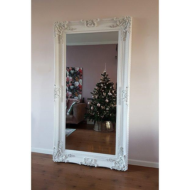 Beautiful prachtige barok spiegel bernini zwart en wit for Goedkope barok spiegel