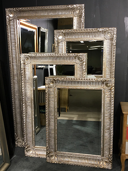 Great excellent lange smalle spiegel with lange smalle for Barok spiegel groot
