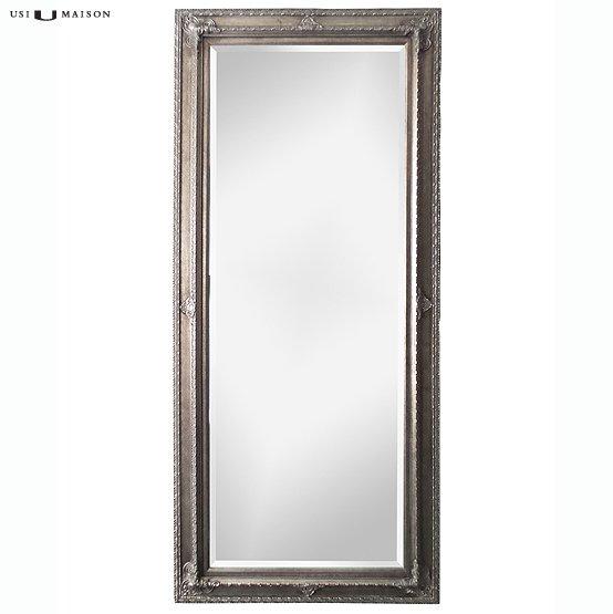 Barok spiegel faccini zilver direct leverbaar bij usi maison for Barok spiegel
