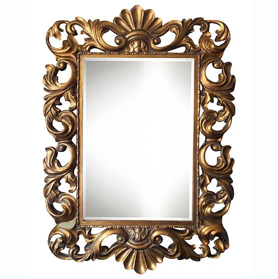 barok spiegel fouquet goud