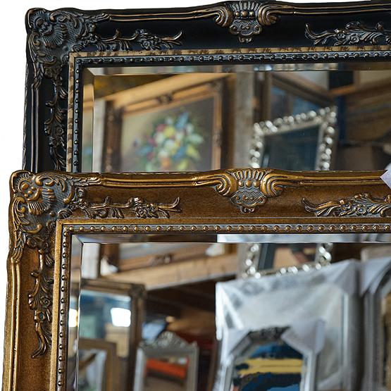 barok spiegel goya goud main