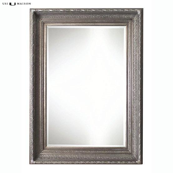 Barok spiegel pissarro antiek zilver usi maison for Barok spiegel
