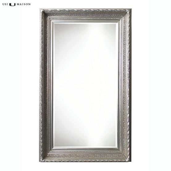 Barok spiegel pissarro licht zilver usi maison for Barok spiegel