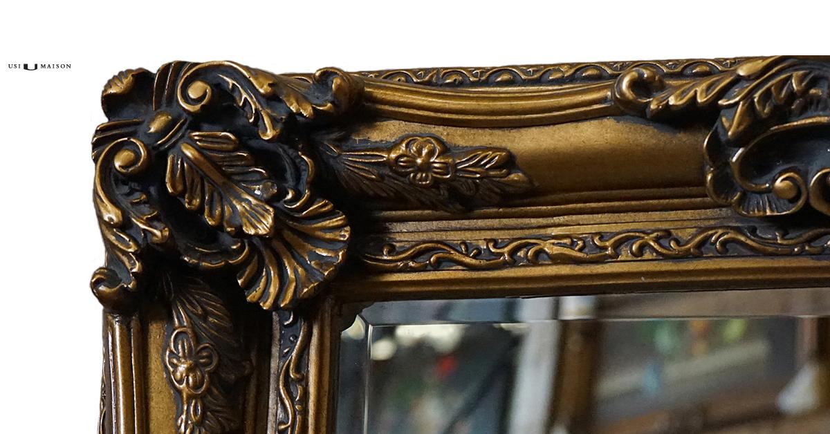 Gouden Barok Spiegel : Barok spiegel raffaello goud klassieke spiegels usi maison