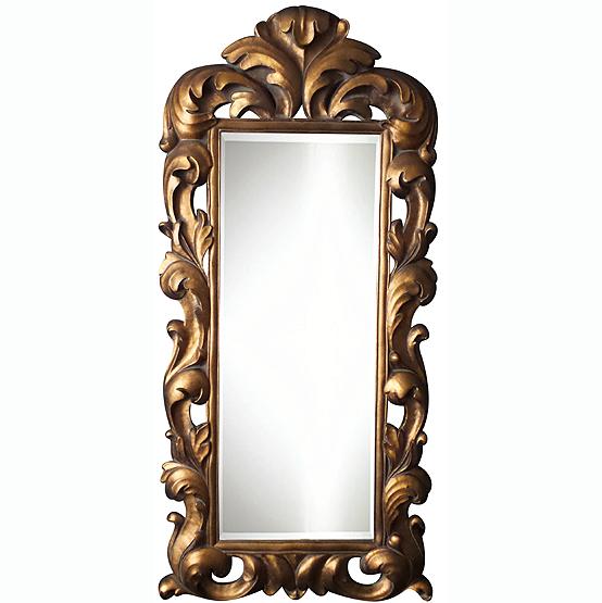 Miroir à crête Klimt - Gold