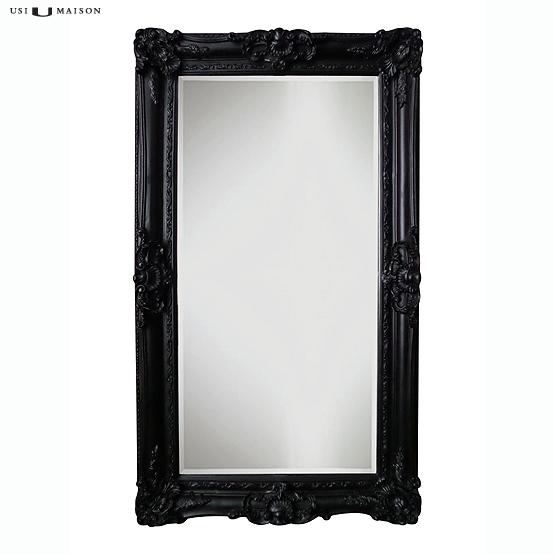 barok spiegels zwart raffaello 06