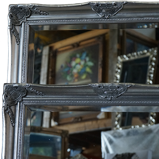 klassieke spiegel botticelli zilver main