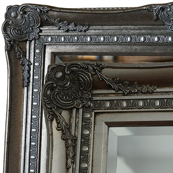 klassieke spiegel michelangelo zilver main