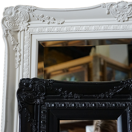 klassieke spiegel michelangelo zwart wit main