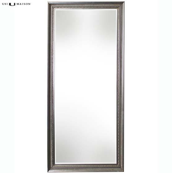 klassieke spiegel monet zilver 08