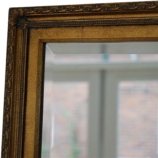 klassieke spiegel perugino goud main