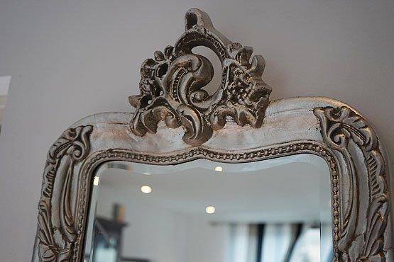 kuif spiegel giotto licht zilver