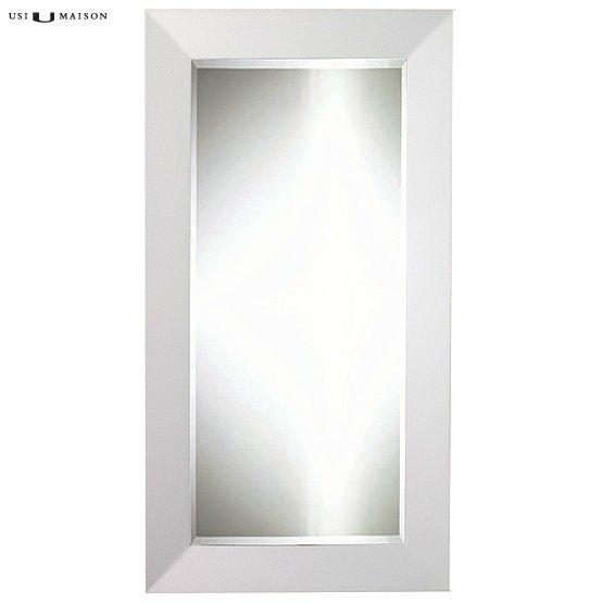 Moderne spiegel mondriaan zwart wit usi maison for Moderne spiegel