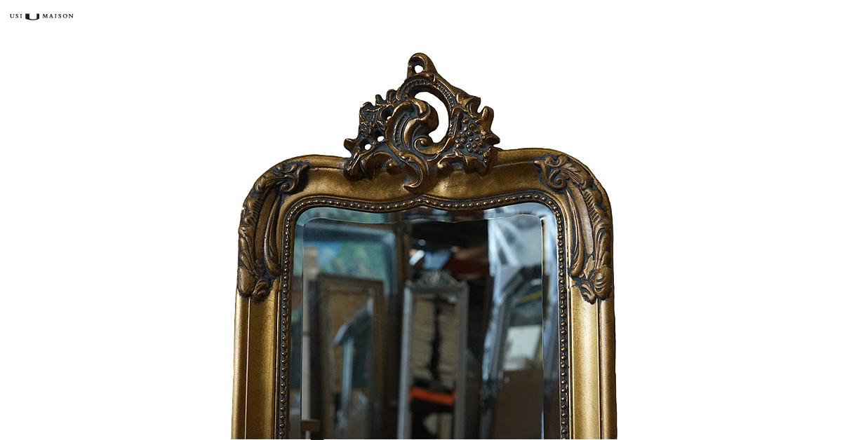 Kuif spiegel giotto in goud nu verkrijgbaar usi maison for Facebook spiegel