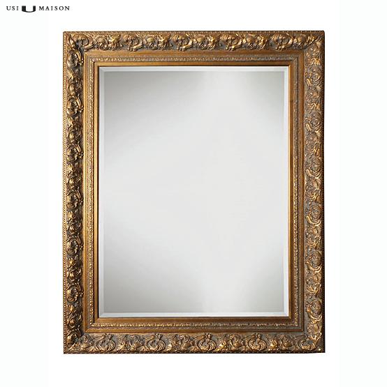spiegel barok davinci goud