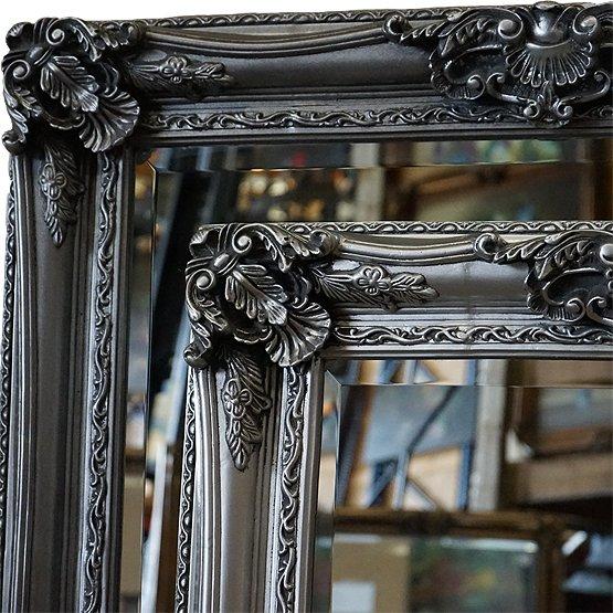 spiegel barok raffaello zilver main
