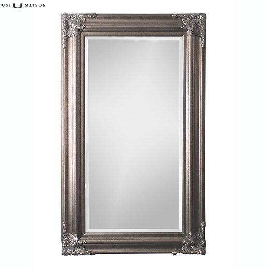 Klassieke barok spiegel rubens antiek zilver usi maison - Barok spiegel voor badkamers ...
