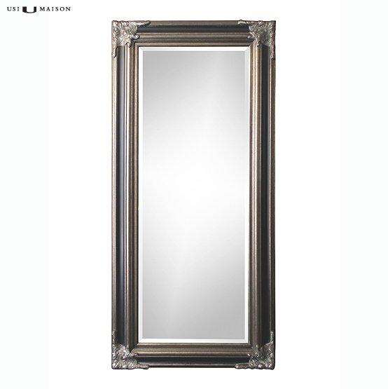 Klassieke barok spiegel rubens antiek zilver usi maison for Barok spiegel