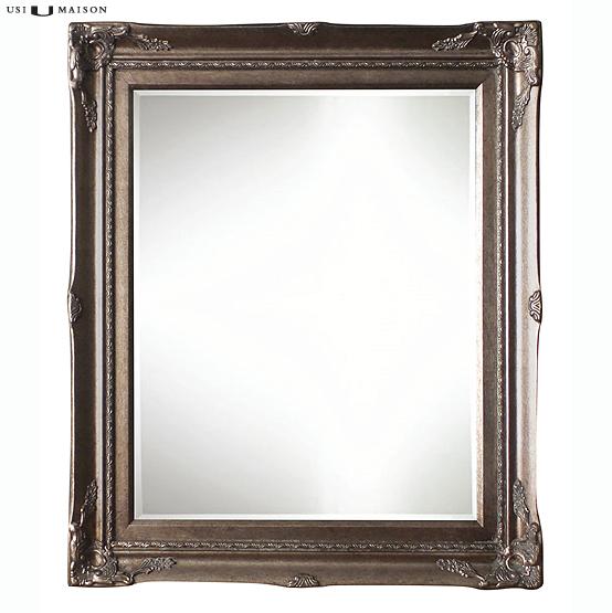 Miroir classique gauguin silver est disponible for Miroir classique