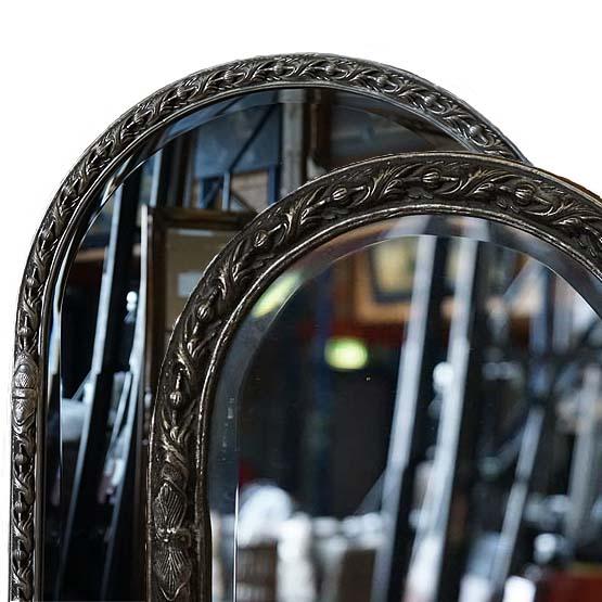 barok spiegels rossetti zilver main