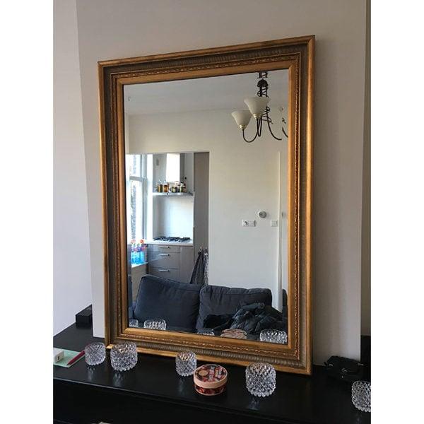 Klassieke lijst met geslepen spiegel