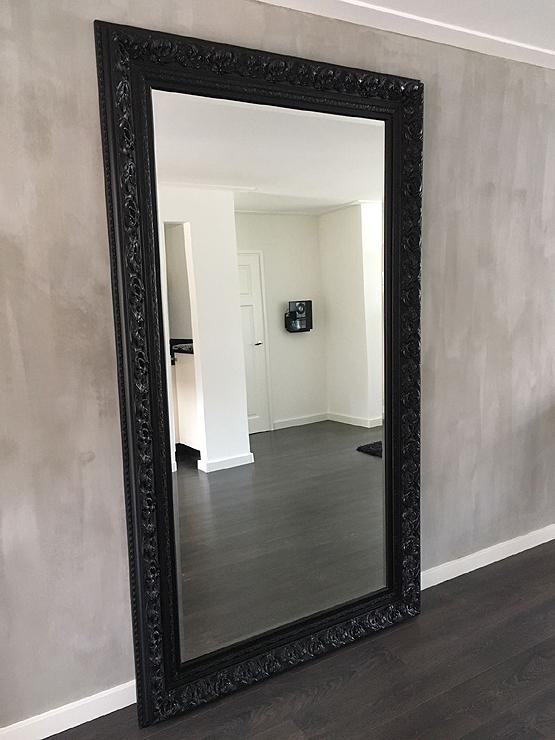 zwarte barok spiegel da vinci