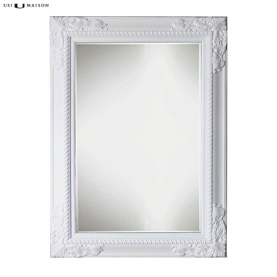 Barok spiegel delaney zwart wit usi maison for Barok spiegel