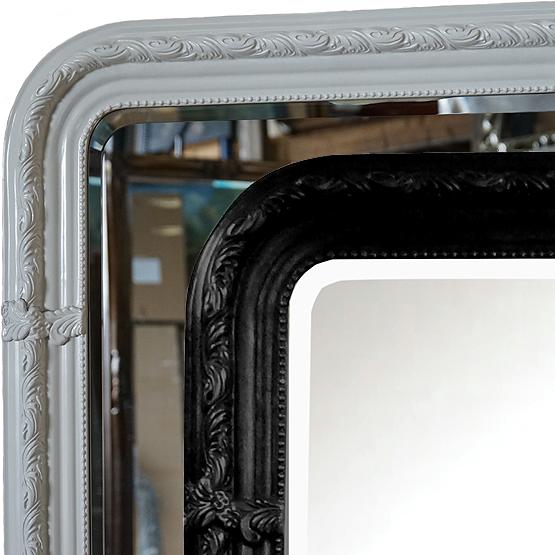 barok spiegel leonardo zwart wit main