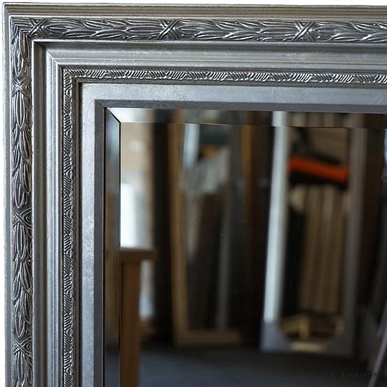 klassieke spiegel francesca zilver main