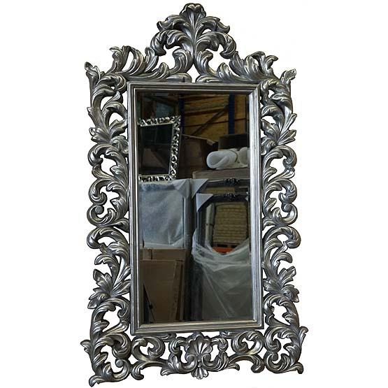 Beautiful fabulous barok spiegel flinck zilver with barok for Goedkope barok spiegel