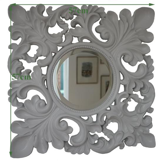 barok spiegel masaccio wit maat