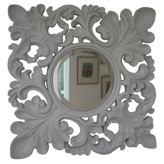 Barok spiegel masaccio wit usi maison for Barok spiegel