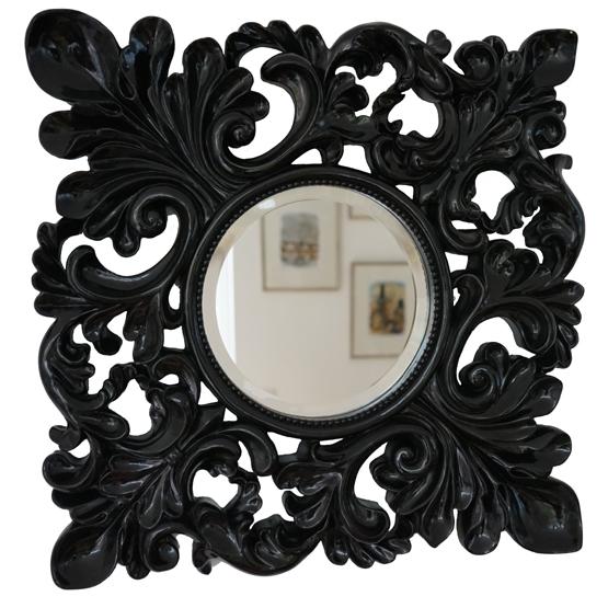 barok spiegel masaccio zwart