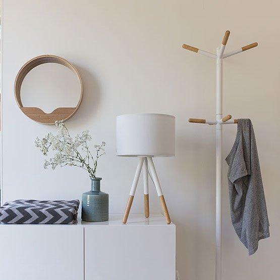 zuiver round wall mirror set