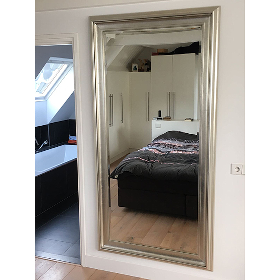 grote spiegel houten lijst great grote spiegel bladgoud