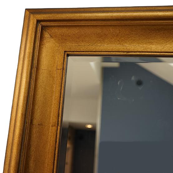 moderne spiegel corneille antiek goud