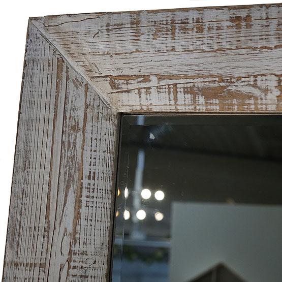 Houten spiegel dartmoor usi maison for Houten spiegel