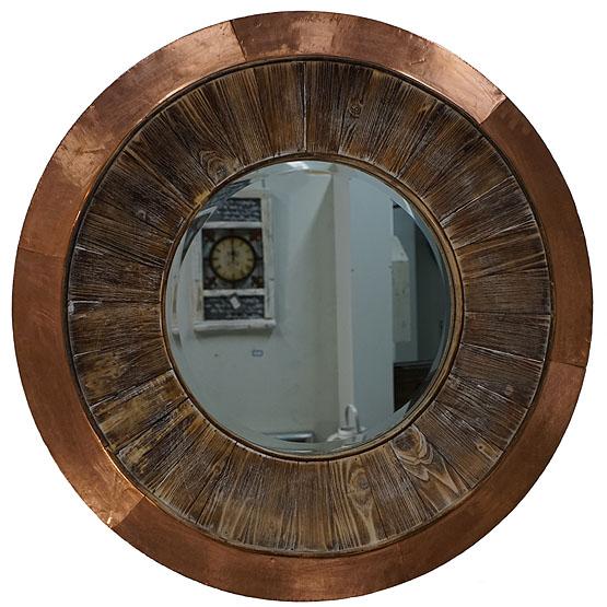 Iets Nieuws Prachtige ronde spiegel Shakti - Usi Maison #LX62