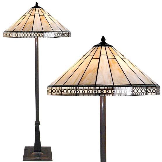 tiffany vloerlamp brookville combi